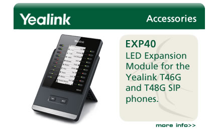 LED Expansion Module for the Yealink T46G and T48G SIP phones.