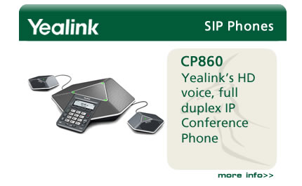 Yealink's HD voice, full duplex IP Conference Phone